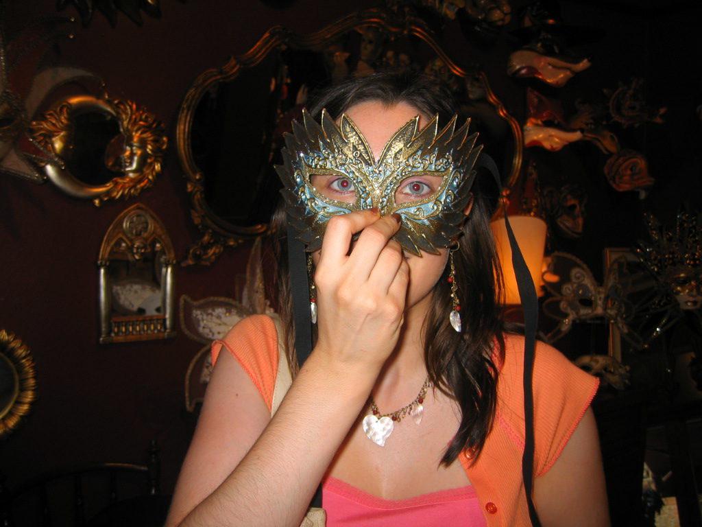 Amy Venice Venetian Mask