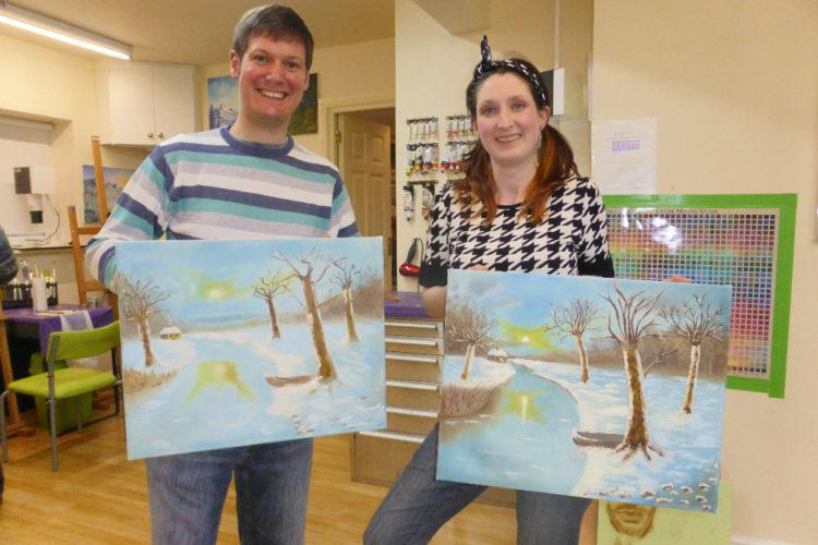 MazArt Oil Painting Class
