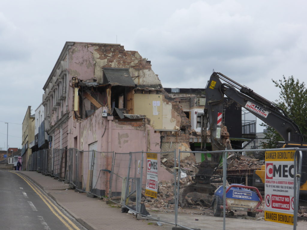 The Place Hanley Demolished