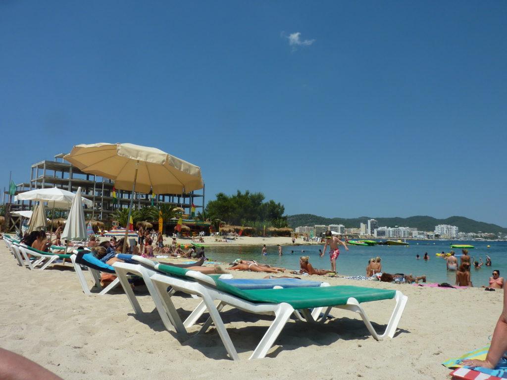 Romantic Ibiza Playa Pinet Beach