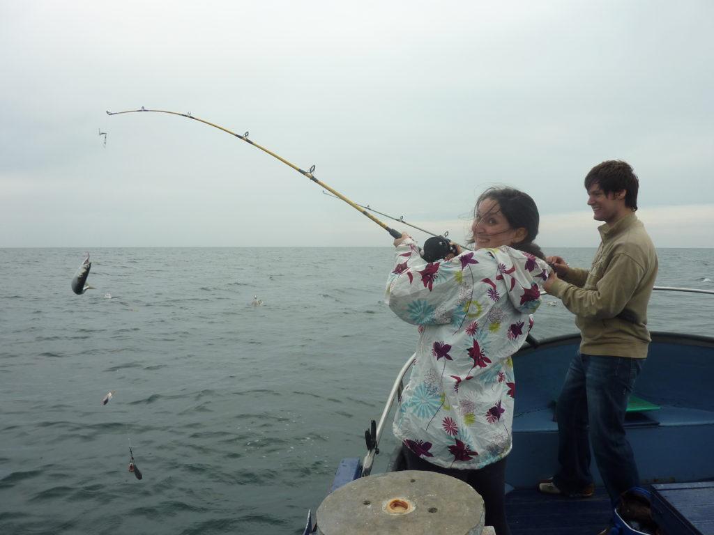 Deep Sea Fishing Conwy Romantic North Wales