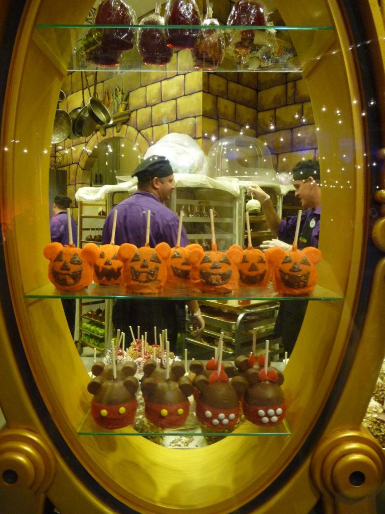 Romantic Disney Springs Candy Cauldron