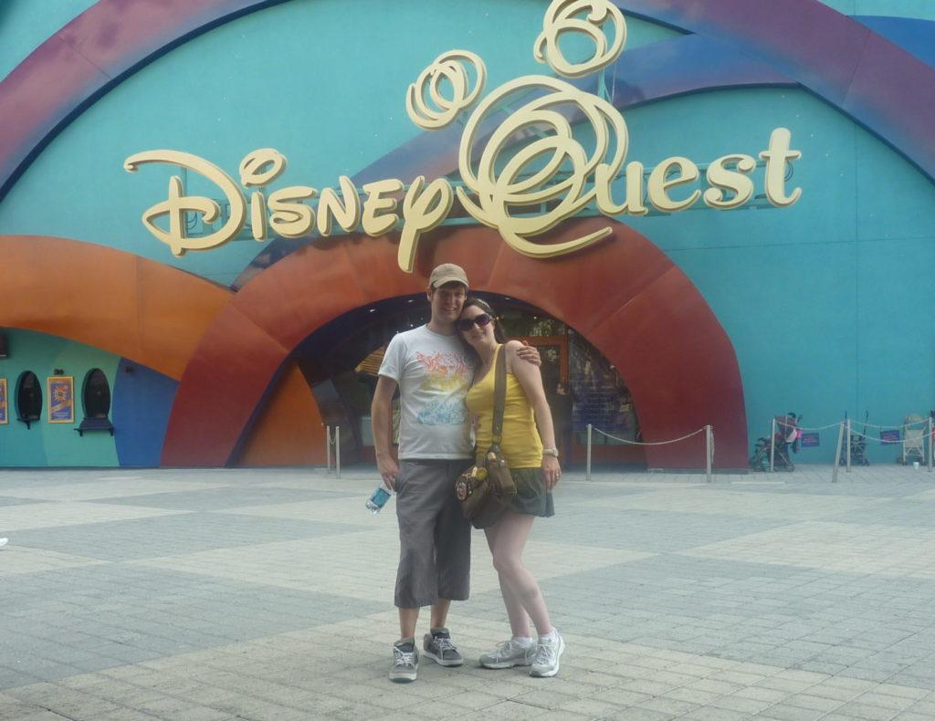 Romantic Disney Springs DisneyQuest