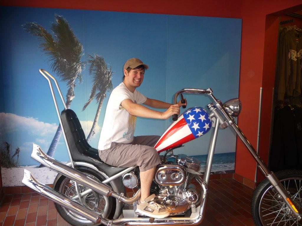Romantic Disney Springs Harley Davidson