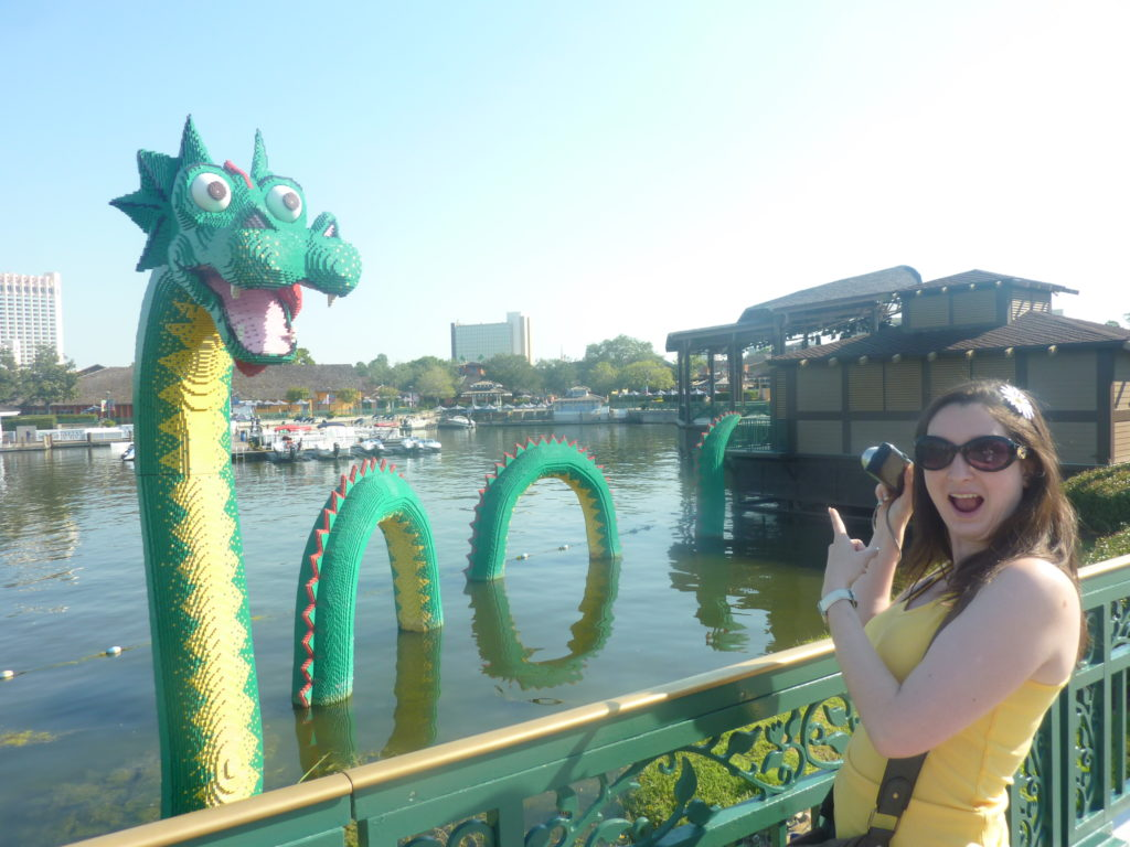 Romantic Disney Springs Lego Store