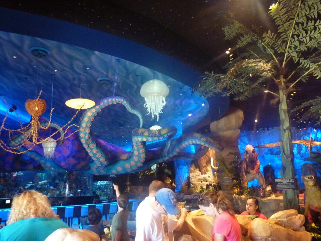 Romantic Disney Springs T-Rex