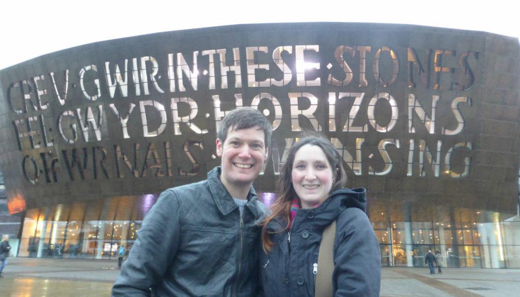 Cardiff Bay Wales Millennium Centre