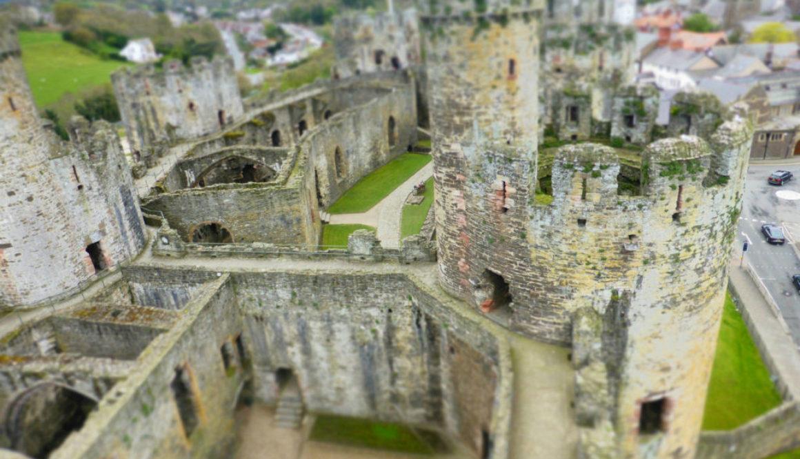 Conwy Castle Romantic North Wales
