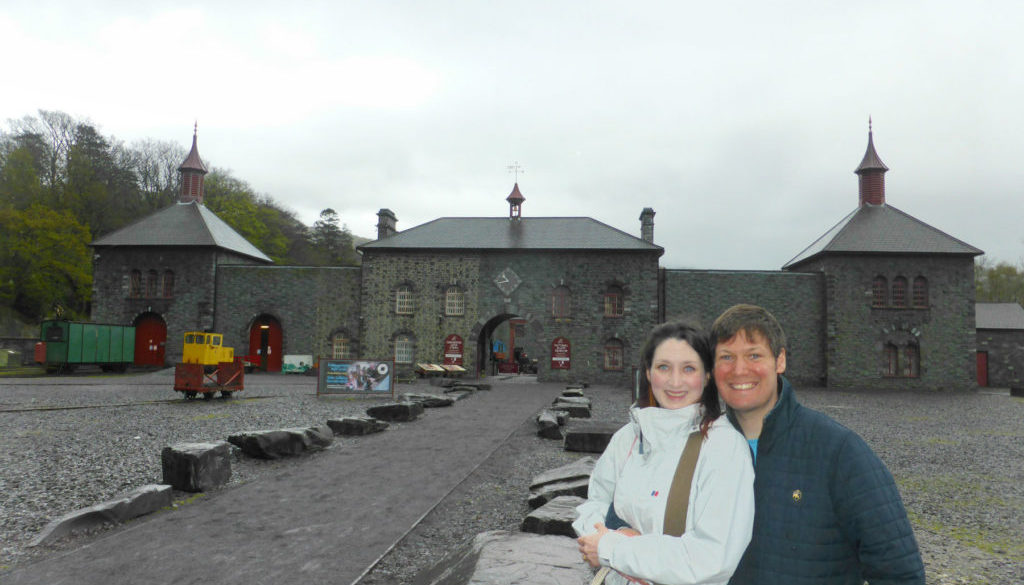National Slate Museum Romantic North Wales