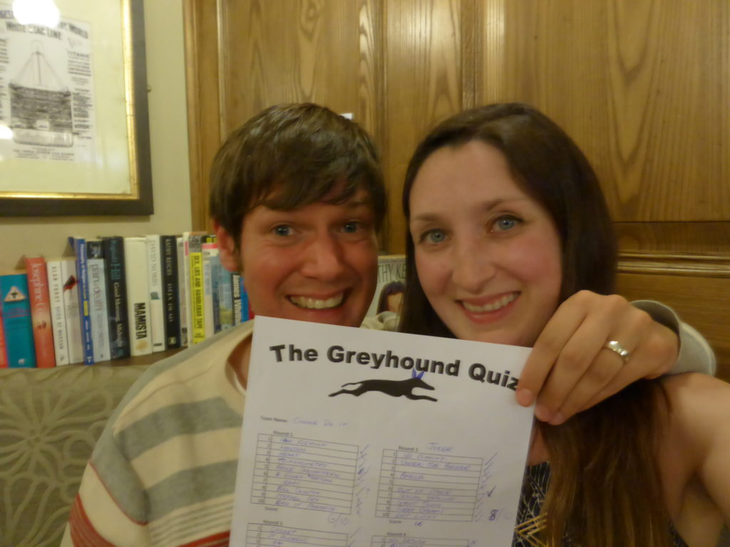 Newcastle-Under-Lyme Romantic Greyhound Pub Quiz
