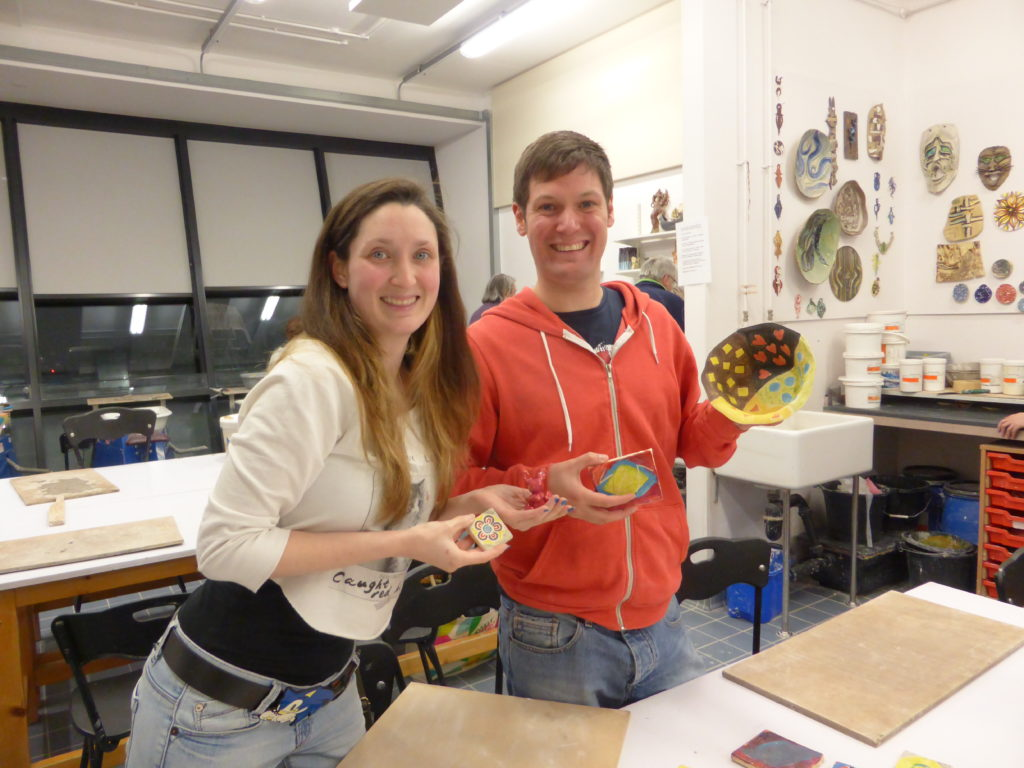 Newcastle-Under-Lyme Romantic College Ceramics Course
