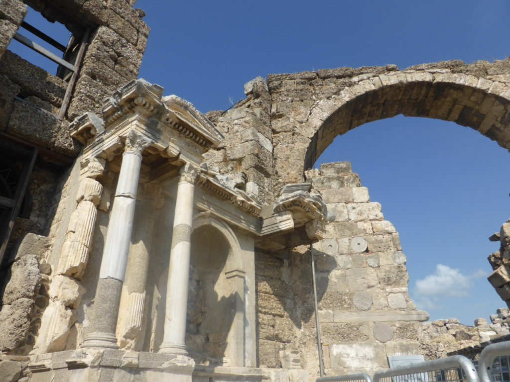 Romantic Side Ruins Vespasian Fountain