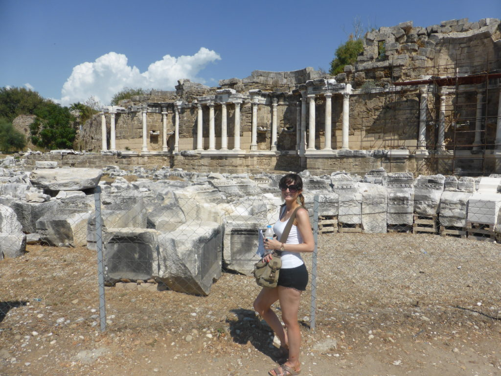 Romantic Side Ruins Nymphaeum