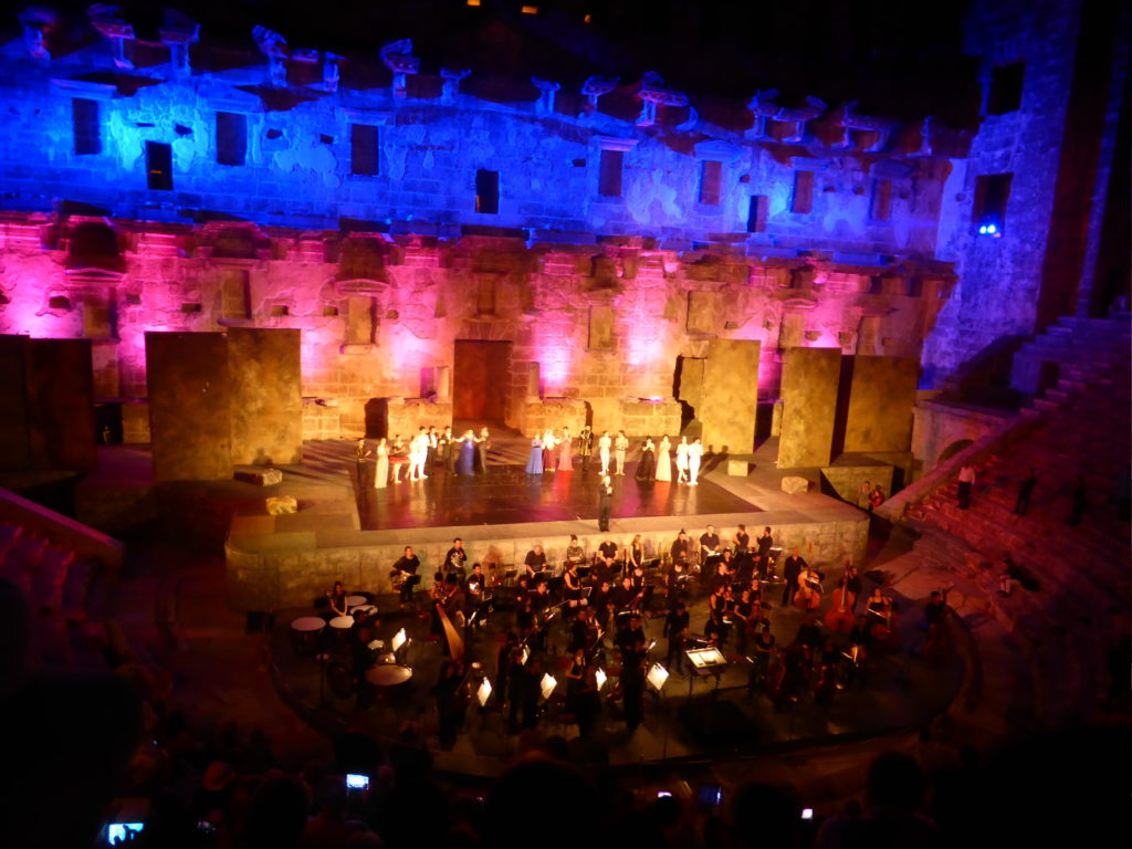 Romantic Side Aspendos Theatre