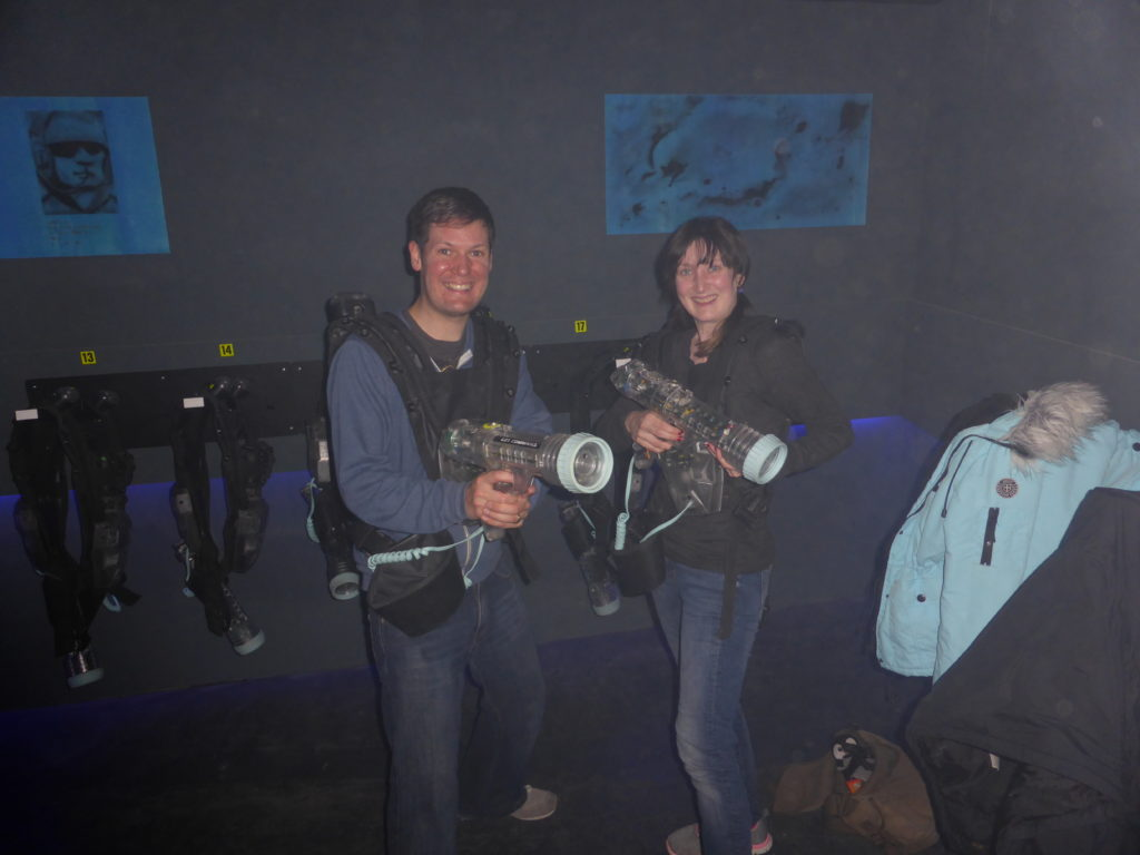 Newcastle-Under-Lyme Romantic Laser Quest Stoke