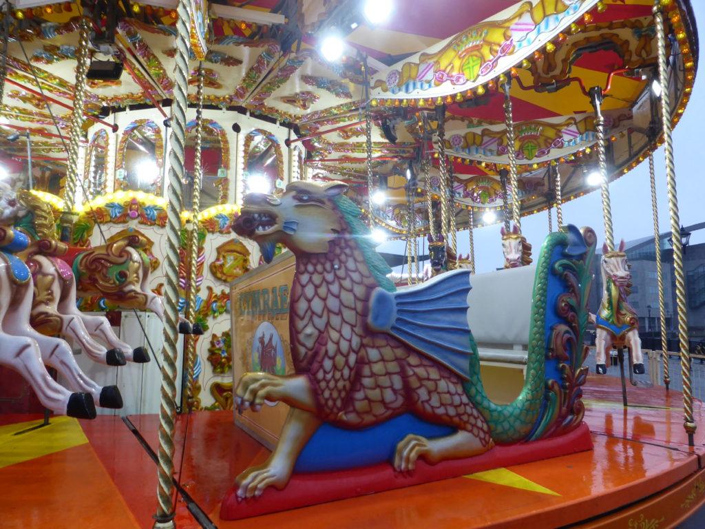 Cardiff Bay Welsh Carousel
