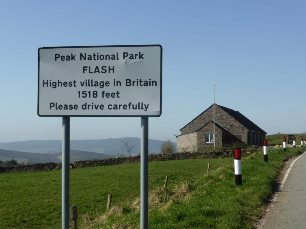 Flash Staffordshire Highest Village in UK