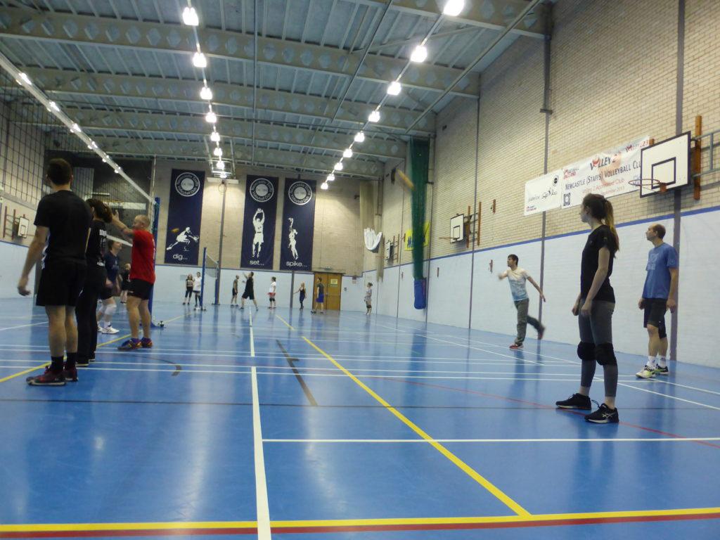 Social Volleyball Date Ideas Newcastle Staffs