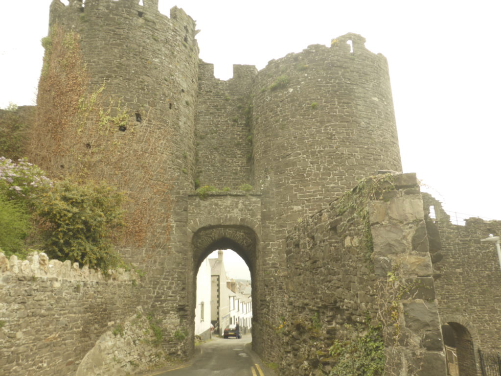 Conwy Town Walls Upper Gate