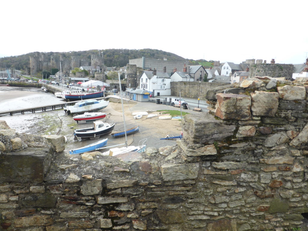Conwy Town Walls Quayside