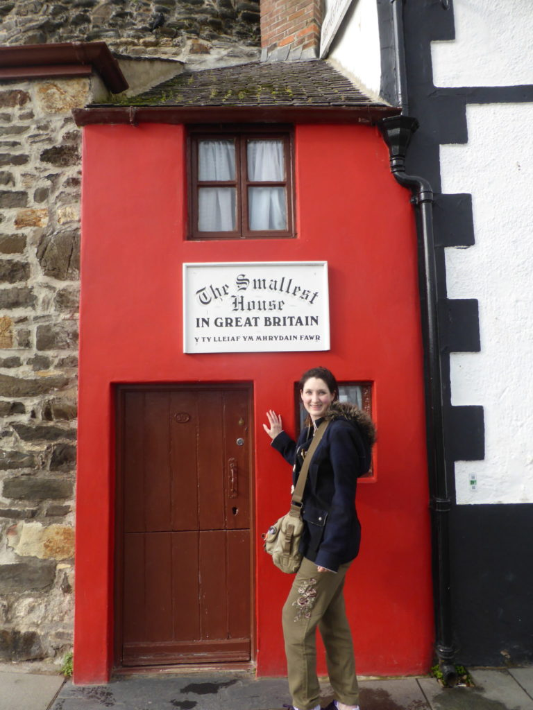 Conwy Smallest House in Great Britain