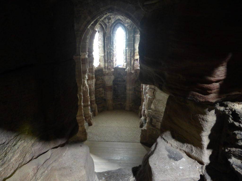Conwy Castle King's Chapel Watching Chamber