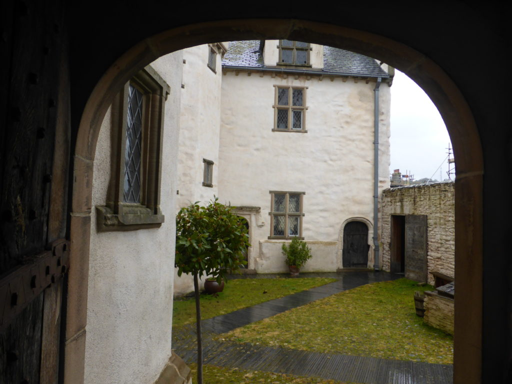 Plas Mawr Upper Courtyard