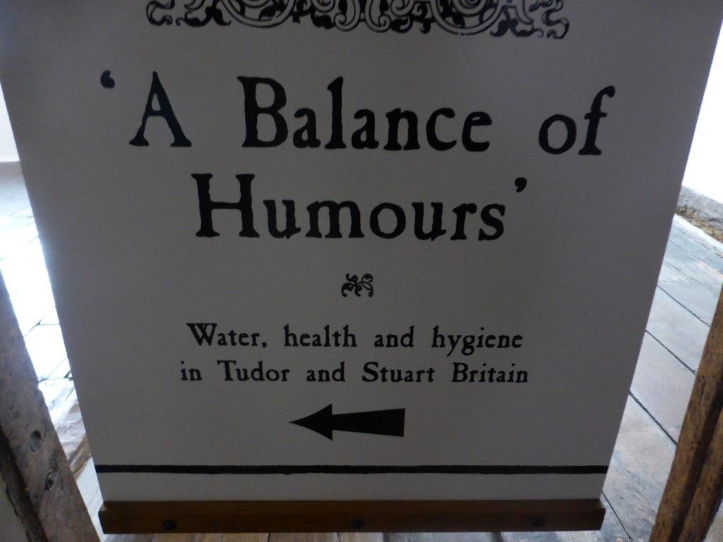 Plas Mawr A Balance of Humours