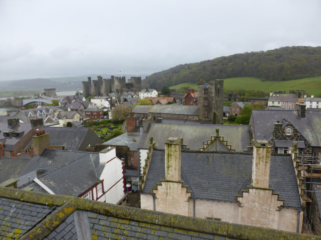 Plas Mawr View from Tower