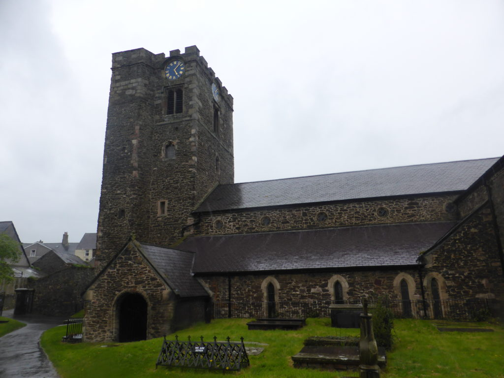 St Mary's Church Conwy