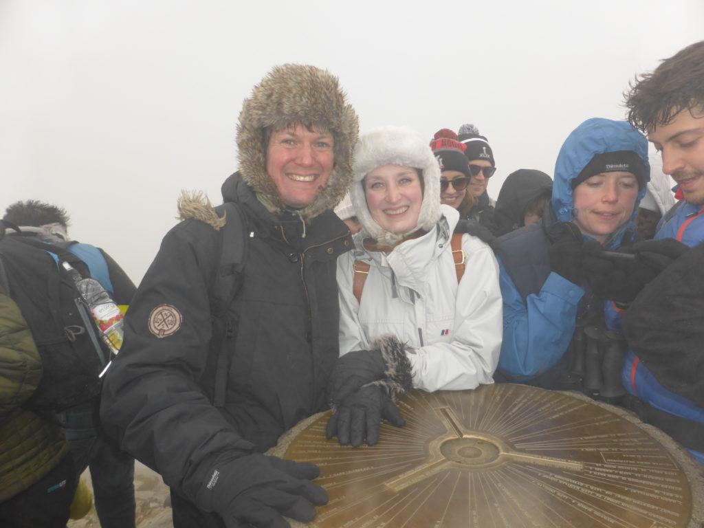 Climb a Mountain Date Ideas Snowdon Ranger Path Summit