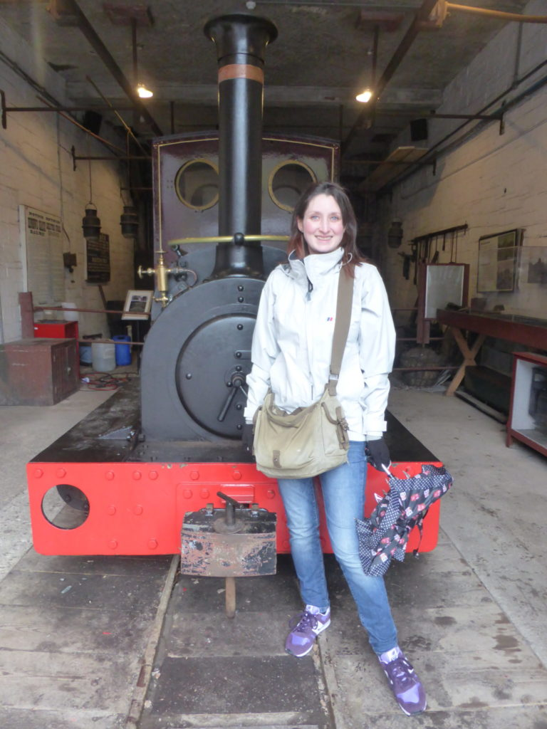 National Slate Museum Una the Engine