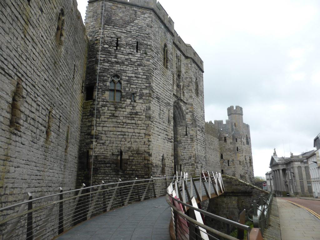 Caernarfon Castle Kings Gate