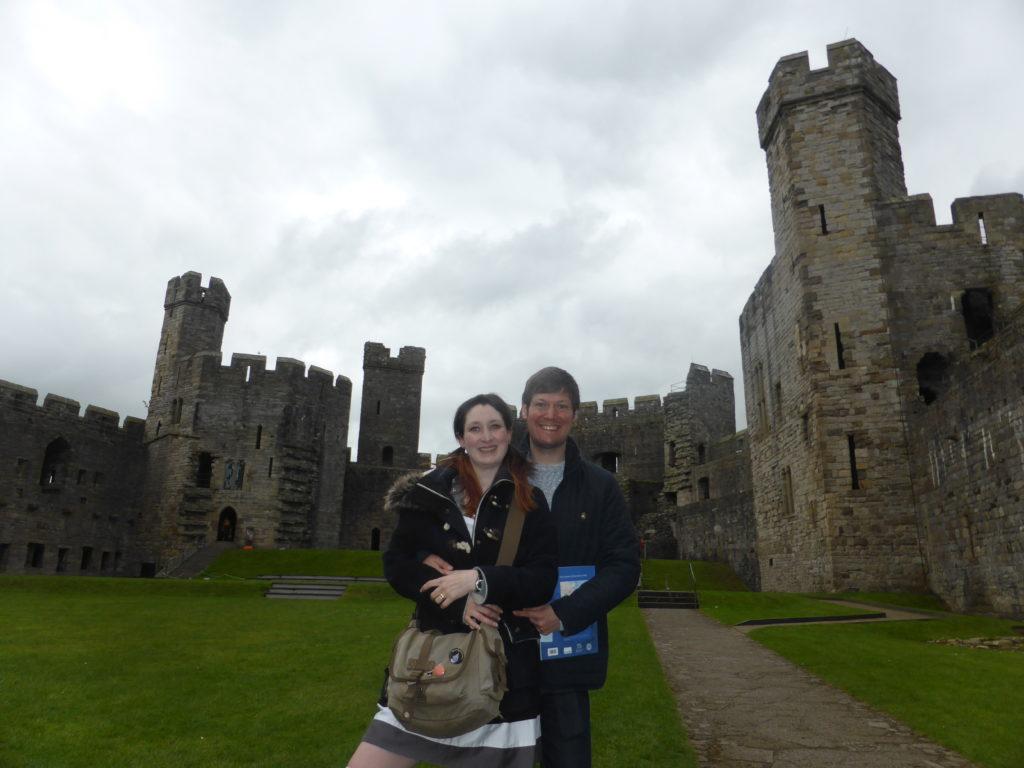 Caernarfon Castle Courtyard