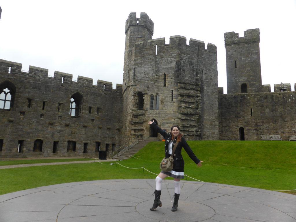 Caernarfon Castle Welsh Slate Dais Prince Charles