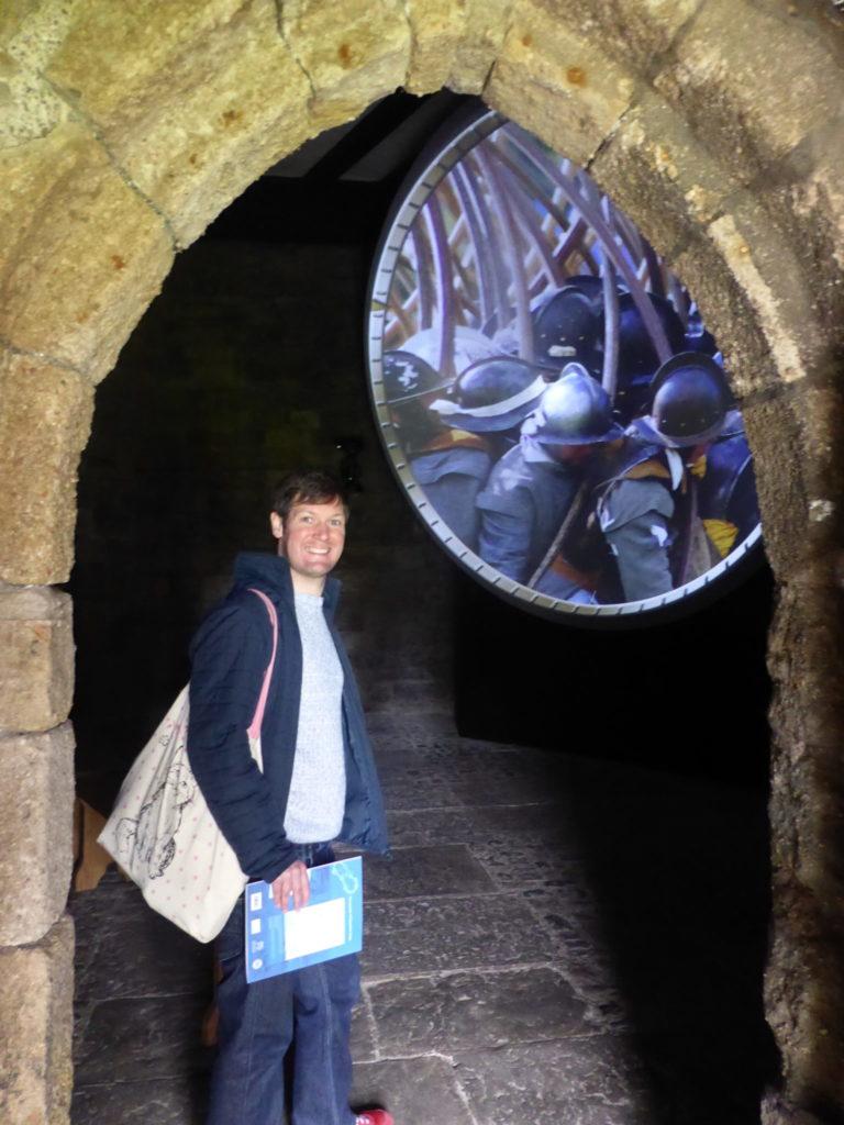 Caernarfon Castle North-West Tower Film
