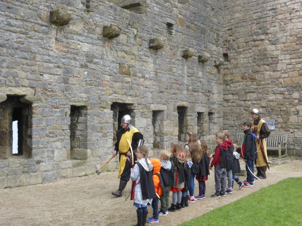 Caernarfon Castle Medieval Entertainment