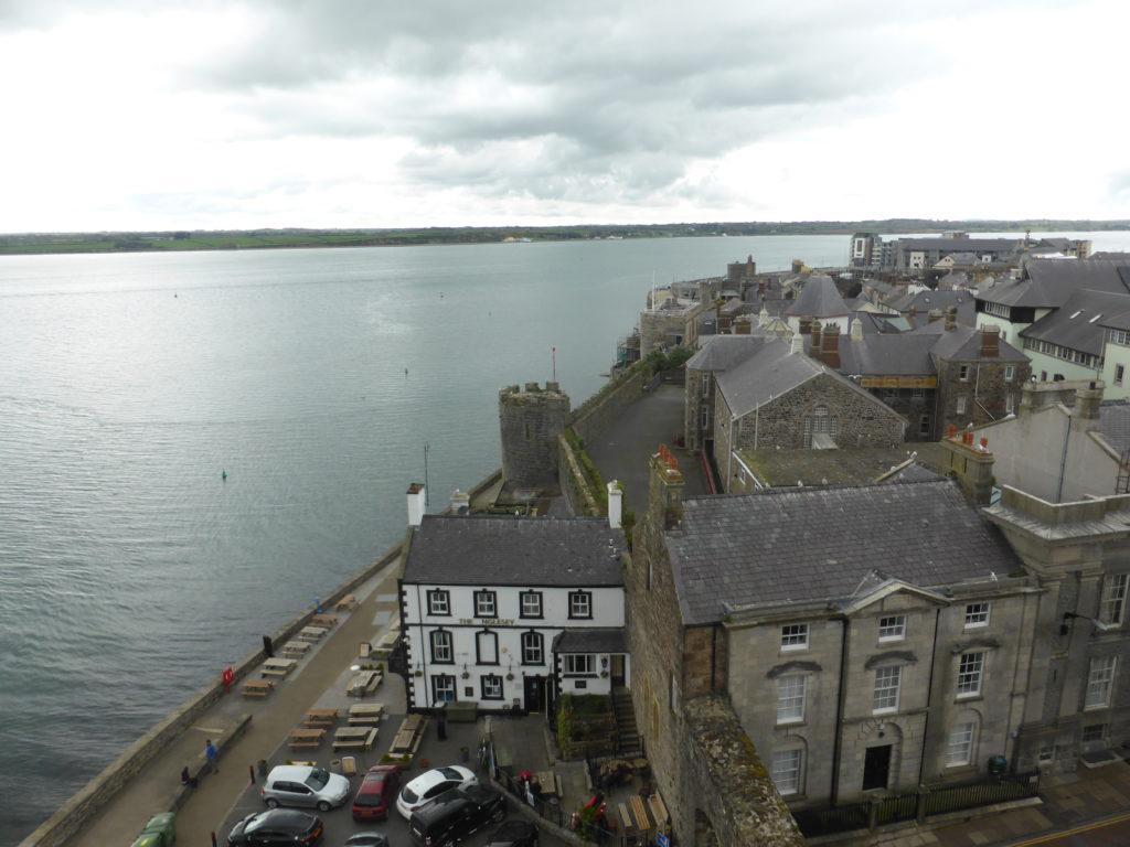 Caernarfon Castle Eagle Tower Views