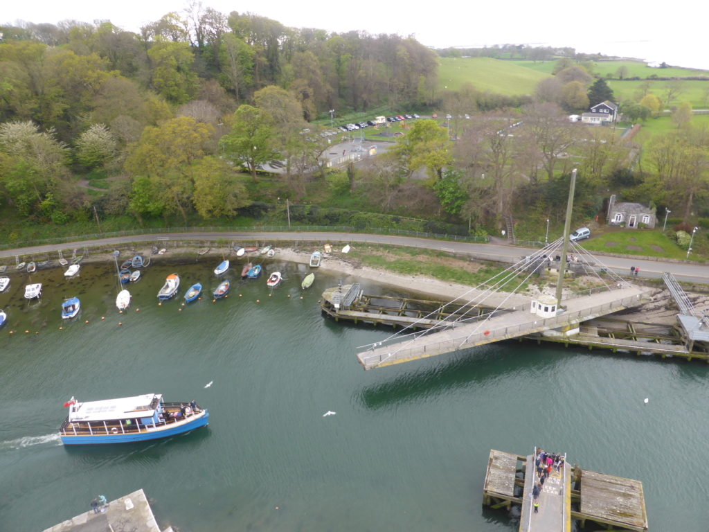 Caernarfon Castle Eagle Tower Swing Bridge