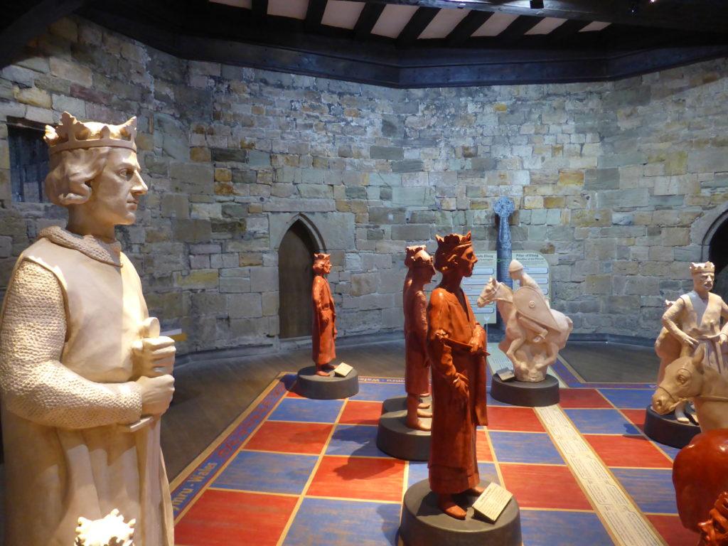 Caernarfon Castle Eagle Tower Game of Crowns