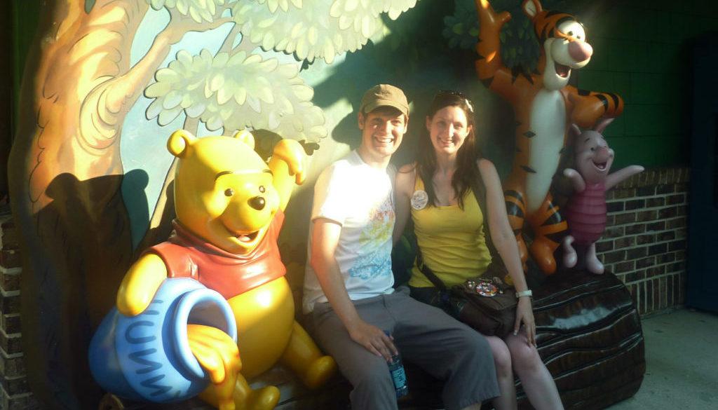 Romantic Disney Springs Winnie the Pooh