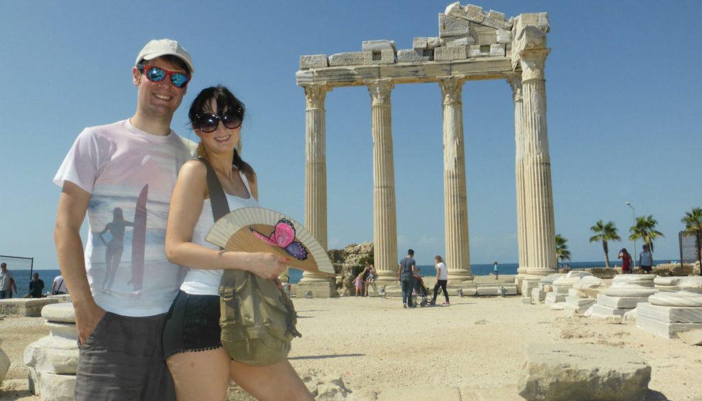 Side Romantic Temple of Apollo