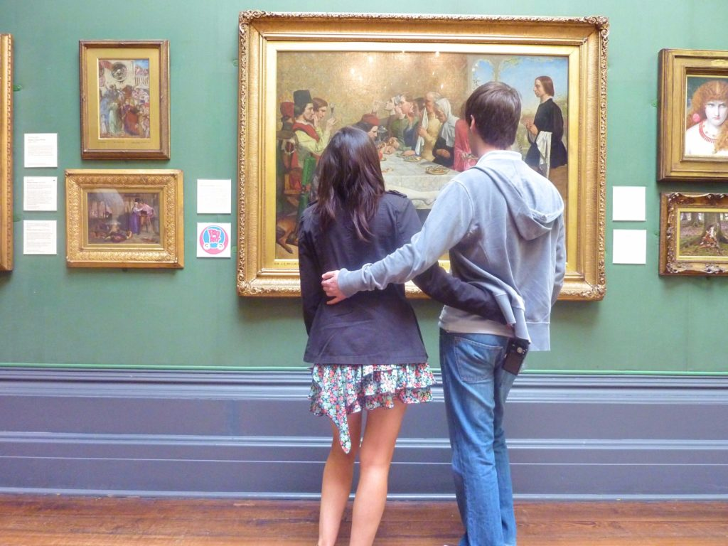 Romantic Couples Guide Liverpool Walker Art Gallery