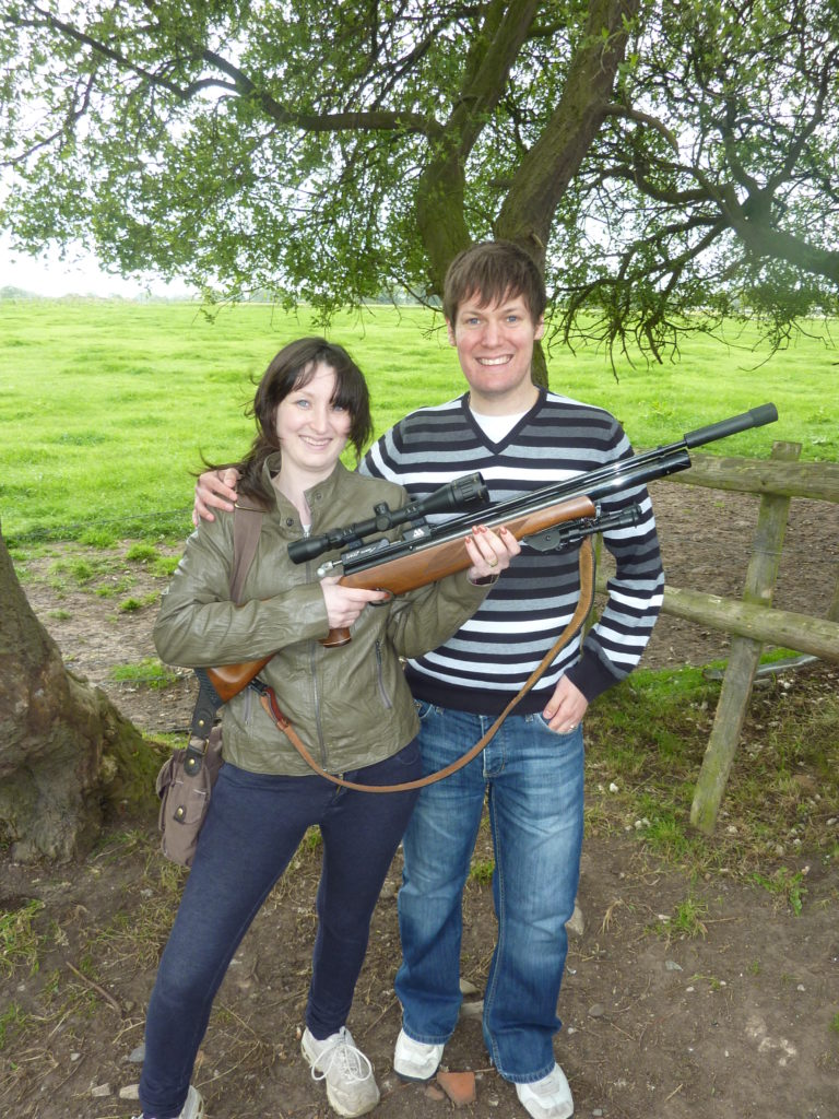 Romantic Guide Cheshire Plinking Byley Field Target Club