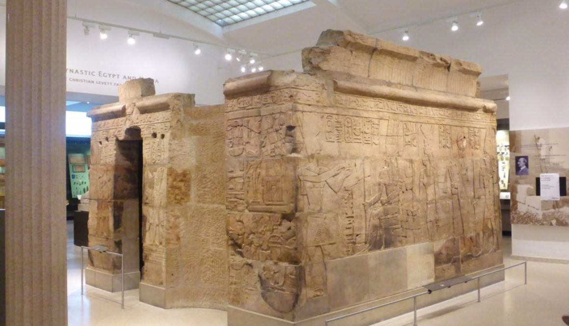 Ashmolean Museum Oxford Ancient Egypt and Nubia Temple
