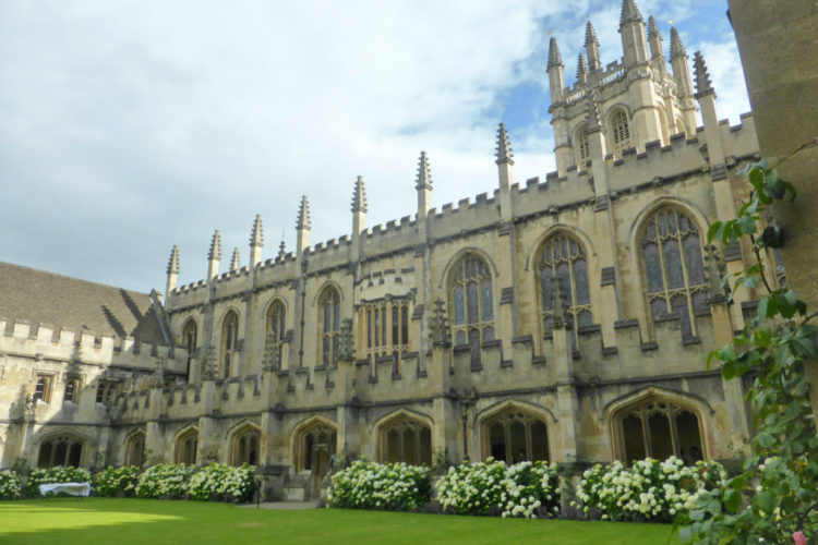 Magdalen College Oxford Cloisters Days Out