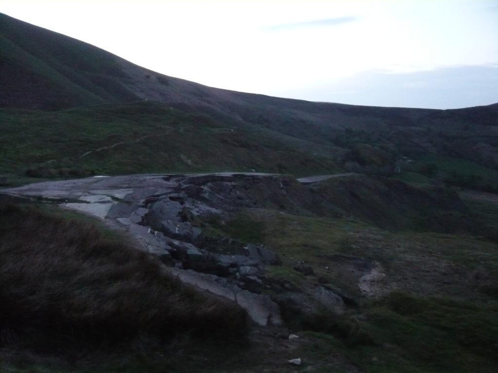 Romantic Car Picnic Peak District Drive Former A625