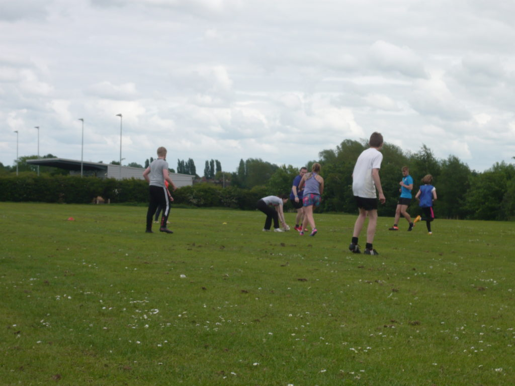 Touch Rugby Football Date Idea