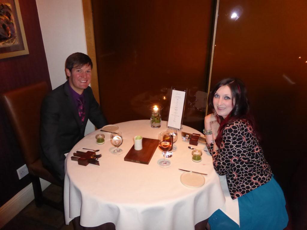Romantic Nottingham Restaurant Sat Bains