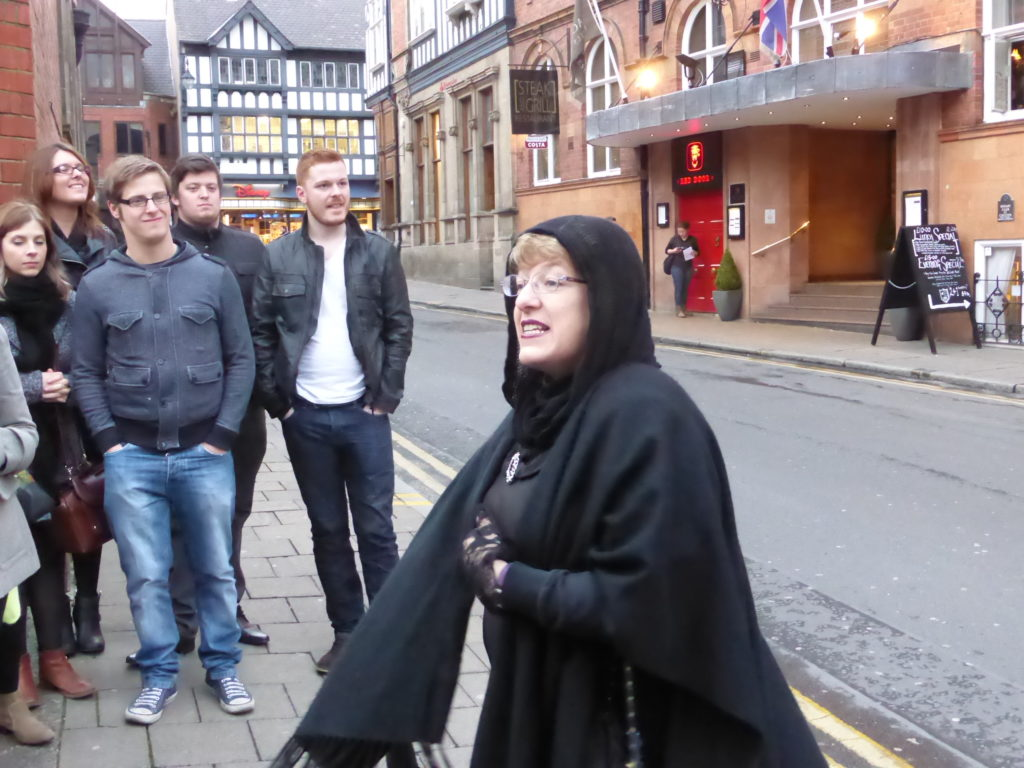 Romantic Guide Cheshire Chester Ghost Tours